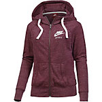 Nike Gym Vintage Sweatjacke Damen bordeaux