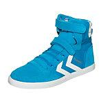 hummel Slimmer Stadil Canvas High Sneaker Kinder hellblau / weiß