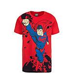 PUMA Fun Superman T-Shirt Kinder rot / blau / schwarz