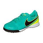 Nike Tiempo Legend VI Fußballschuhe Kinder türkis / neongelb