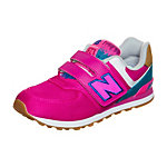 NEW BALANCE KV574-T4Y-M Sneaker Mädchen pink / türkis