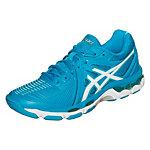 ASICS Gel-Netburner Ballistic Fitnessschuhe Damen blau / weiß