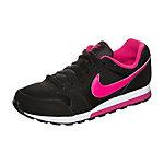 Nike MD Runner 2 Sneaker Mädchen schwarz / pink