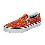 Vans Classic Slip-On Sports Sneaker Kinder orange / weiß