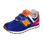NEW BALANCE KV574-T5Y-M Sneaker Kinder lila / pink / orange
