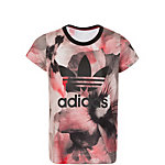 adidas Allover Print T-Shirt T-Shirt Mädchen rot / schwarz