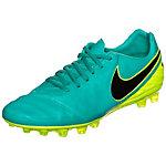 Nike Tiempo Legacy Fußballschuhe Herren türkis / neongelb
