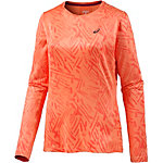 ASICS Winter Laufshirt Damen orange