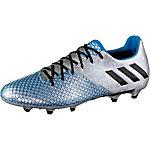 adidas MESSI 16.2 FG Fußballschuhe Herren silber/blau