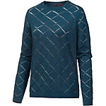 TOM TAILOR Strickpullover Damen petrol