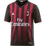 adidas AC Mailand 16/17 Heim Fußballtrikot Kinder schwarz