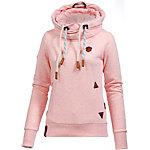Naketano Reorder VI Sweatshirt Damen rosa melange