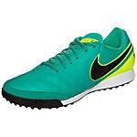 Nike Tiempo Genio II Leather Fußballschuhe Herren türkis / neongelb