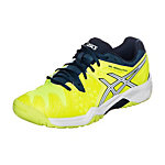 ASICS Gel-Resolution 6 GS Tennisschuhe Kinder neongelb / blau