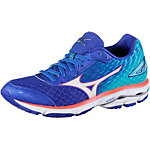 Mizuno Wave Rider 19 Laufschuhe Damen blau/orange
