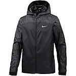 Nike Shield Flash Hooded Racer Laufjacke Herren schwarz