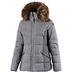 ICEPEAK Tiffy Winterjacke Damen hellgrau