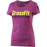 Reebok Crossfit T-Shirt Damen fuchsia