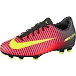 Nike MERCURIAL VAPOR XI FG Fußballschuhe Kinder orange/gelb/pink