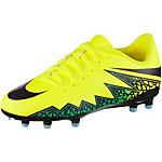 Nike HYPERVENOM PHELON II FG Fußballschuhe Kinder gelb/schwarz/türkis