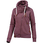 Naketano Jedi Path Sweatjacke Damen bordeaux melange