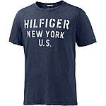 Tommy Hilfiger Printshirt Herren dunkelblau