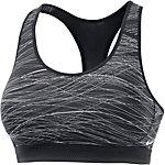 Nike Pro Fierce Sport-BH Damen grau/schwarz