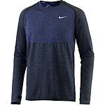 Nike Dri-Fit Knit Laufshirt Herren dunkelblau