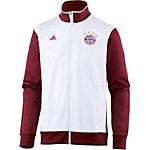 adidas FC Bayern Trainingsjacke Herren weiß