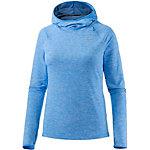 Nike Dri-Fit Element Laufhoodie Damen blau