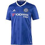 adidas FC Chelsea 16/17 Heim Fußballtrikot Herren blau