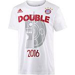 adidas FC Bayern Fanshirt Herren weiß