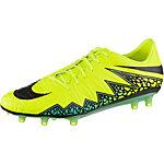 Nike HYPERVENOM PHATAL II FG Fußballschuhe Herren gelb/schwarz/türkis