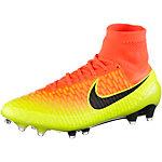 Nike MAGISTA OBRA FG Fußballschuhe Herren orange/schwarz/gelb
