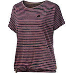Naketano T-Shirt Damen bordeaux melange