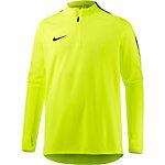 Nike Squad Langarmshirt Herren gelb/schwarz