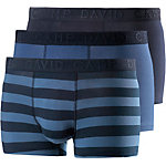 CAMP DAVID Boxer Herren blau/dunkelblau/gestreift