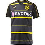 PUMA Borussia Dortmund 16/17 Auswärts Fußballtrikot Herren schwarz/gelb