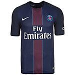 Nike Paris Saint-Germain 16/17 Heim Fußballtrikot Herren dunkelblau / weiß