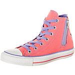 CONVERSE Chuck Taylor All Star Side Zip High Sneaker Damen pink