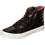 Vans Sk8-Hi Slim Zip Sneaker schwarz / weiß