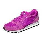 Nike MD Runner 2 Sneaker Damen lila / silber