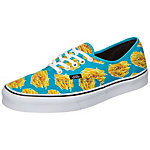 Vans Authentic Late Night Sneaker blau / gelb / weiß