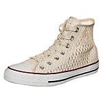CONVERSE Chuck Taylor All Star Crochet Sneaker Damen beige / weiß
