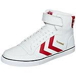 hummel Stadil Classic Sneaker weiß / rot
