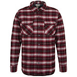 CONVERSE Static Flannel Langarmhemd Herren rot / weiß