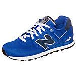 NEW BALANCE ML 574-POB-D Sneaker Herren blau / dunkelblau