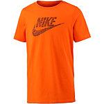 Nike Printshirt Jungen orange