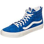 Vans Sk8-Hi Slim Zip Sneaker blau / weiß