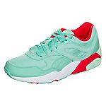 PUMA Trinomic R698 Filtered Sneaker Damen mint / rot / weiß